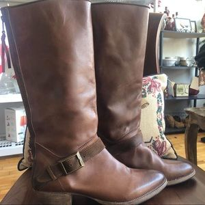Blackstone leather riding boots size 39